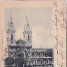 Postais: CADIZ - IGLESIA DE SAN ANTONIO - GERALDI Y TORRE. Lote 155185246