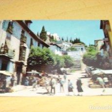 Postales: REALEJO - GRANADA- CALLE TIPICA Y MERCADO. Lote 155379402