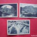 Postales: CAZORLA.-JAEN.-POSTALES.-EL CASTILLO.-VISTA PARCIAL.-EL RIO POR LA HOZ.-L. ROISIN.-FOTOGRAFO.. Lote 155709506