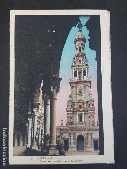 SEVILLA TORRE DEL PALACIO ESPAÑA (Postales - España - Andalucía Antigua (hasta 1939))