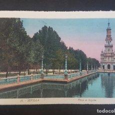 Postales: SEVILLA PLAZA DE ESPAÑA. Lote 155821242