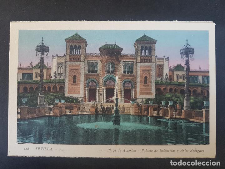 SEVILLA PLAZA ESPAÑA (Postales - España - Andalucía Antigua (hasta 1939))