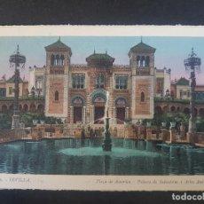 Postales: SEVILLA PLAZA ESPAÑA. Lote 155821590