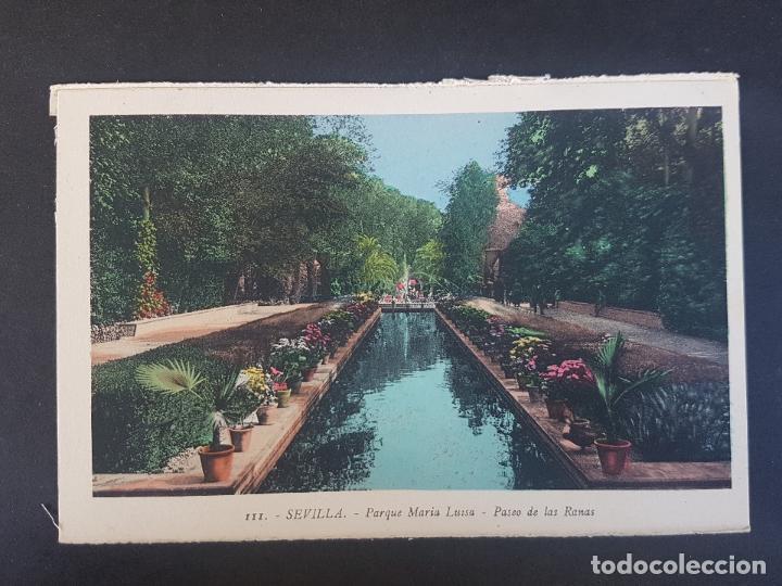 SEVILLA PASEO DE LAS RANAS (Postales - España - Andalucía Antigua (hasta 1939))