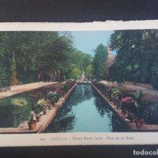 Postales: SEVILLA PASEO DE LAS RANAS. Lote 155822290