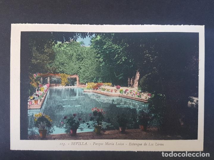 SEVILLA ESTANQUE DE LOS LIRIOS (Postales - España - Andalucía Antigua (hasta 1939))