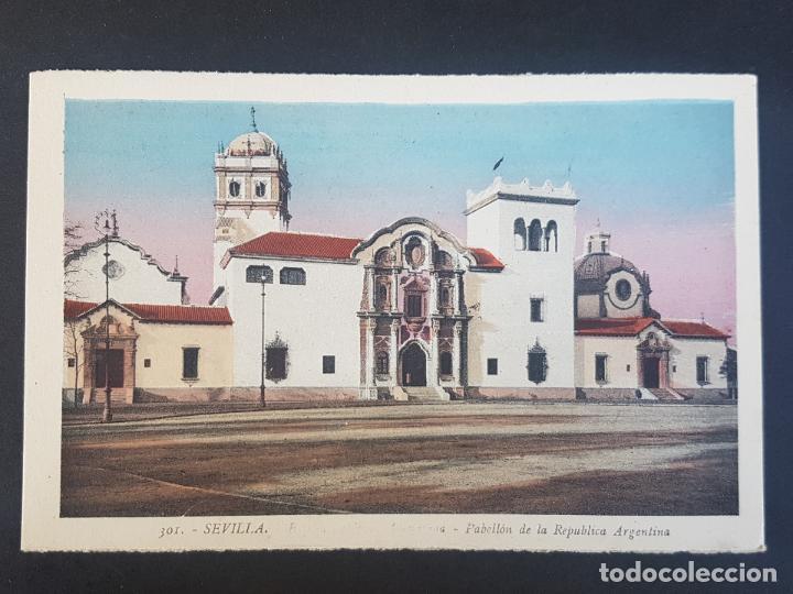 SEVILLA PABELLON DE LA REPUBLICA ARGENTINA (Postales - España - Andalucía Antigua (hasta 1939))