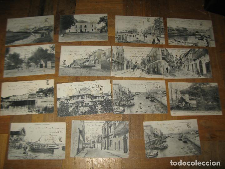 LOTE POSTALES ALGECIRAS ANTIGUAS AÑOS 1910-1920 ESCRITAS (Postcards - Spain - Old Andalusia (until 1939))