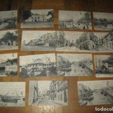 Postales: LOTE POSTALES ALGECIRAS ANTIGUAS AÑOS 1910-1920 ESCRITAS. Lote 156033198