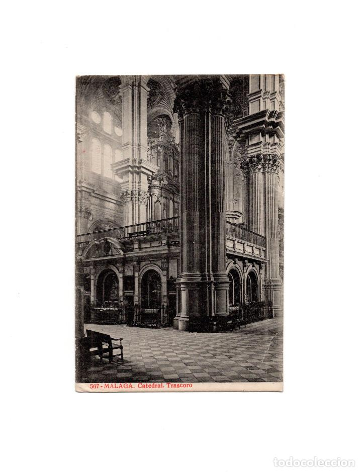 MÁLAGA. - CATEDRAL TRASCORO (Postales - España - Andalucía Antigua (hasta 1939))
