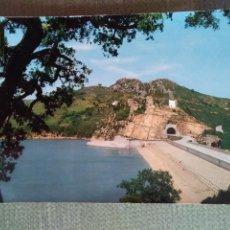 Postales: POSTAL CASTELLAR DE LA FRONTERA CADIZ-PANTANO DE GUADARRANQUE AL FONDO CASTELLAR. Lote 156593786