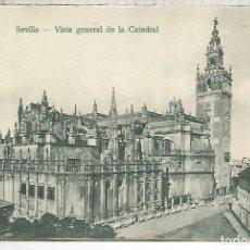 Postales: SEVILLA CATEDRAL DORSO SIN DIVIDIR SIN ESCRIBIR. Lote 156630198