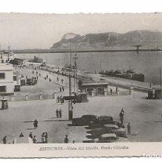 Postales: ALGECIRAS VISTA DEL MUELLE .FONDO GIBRALTAR.ED SUR. Lote 156733186