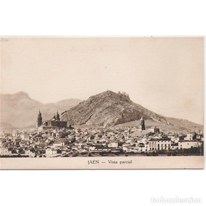 JAEN VISTA PARCIAL EDICION PAPELERIA ANGUITA (Postales - España - Andalucía Antigua (hasta 1939))