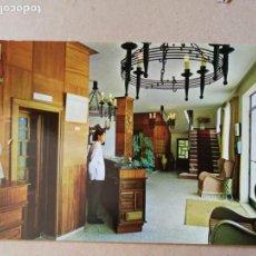 Postales: POSTAL. HOTEL LA POSADA DEL TEROL. PLAYA DE PALMONES. CARRETERA GENERAL DE MÁLAGA-CÁDIZ.. Lote 157377438