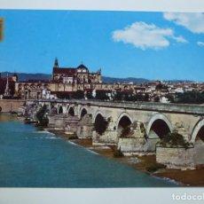 Postales: POSTAL. 778. CÓRDOBA. PUENTE ROMANO. AL FONDO VISTA PARCIAL. ED. SUBIRATS CASANOVAS.. Lote 158131422