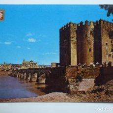 Postales: POSTAL. 760. CÓRDOBA. PUENTE ROMANO Y FORTALEZA CALAHORRA. ED. SUBIRATS CASANOVAS.. Lote 158132030