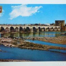 Postales: POSTAL. 779. CÓRDOBA. PUENTE ROMANO Y FORTALEZA CALAHORRA. ED. SUBIRATS CASANOVAS.. Lote 158132162