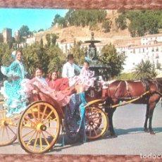 Postales: COSTA DEL SOL - ESCENA TIPICA. Lote 158363882