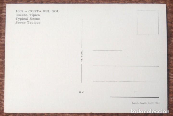 Postales: COSTA DEL SOL - ESCENA TIPICA - Foto 2 - 158363882