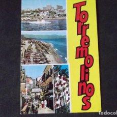 Postales: MALAGA-COSTA DEL SOL-V46-CIRCULADA-TORREMOLINOS. Lote 158364030