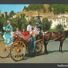 Postales: POSTAL SIN CIRCULAR - COSTA DEL SOL 1889 - ESCENA TIPICA - EDITA BEASCOA. Lote 158832038
