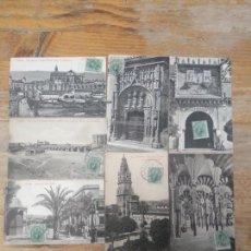 Postales: COLECCIÓN 8 POSTALES PRINCIPIOS DEL SIGLO XX DE CÓRDOBA. Lote 158892037