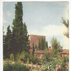 Postales: GRANADA.- ALHAMBRA.- JARDINES DEL PARTAL.. Lote 159062694