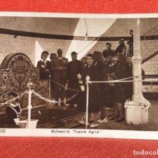Postales: MARMOLEJO ANTIGUA POSTAL BALNEARIO FUENTE AGRIA HUECOGRABADO HIEUSSET POSTAL BALNEARIO JAEN. Lote 159222482