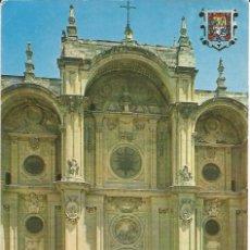 Postales: [POSTAL] FACHADA PRINCIPAL DE LA CATEDRAL GRANADA (SIN CIRCULAR). Lote 159386410