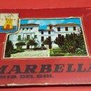 Postales: ALBÚM 10 POSTALES MARBELLA. Lote 159898954