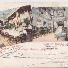 Postales: ALGECIRAS (CADIZ) - HOTEL ANGLO-HISPANO. Lote 160433694