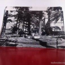Postales: LA LÍNEA DE LA CONCEPCIÓN ( CÁDIZ) JARDINES DEL AYUNTAMIENTO . USADA 1962. Lote 160496872