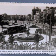 Postales: POSTAL CÁDIZ AVDA RAMÓN DE CARRANZA ED AISA ESCRITA 1957. Lote 160965350