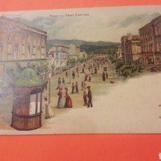 Postales: 1900 CÓRDOBA PASEO DEL GRAN CAPITÁN. Lote 161284364