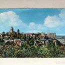 Postales: GRANADA. POSTAL NO.12, VISTA DE LA ALHAMBRA. SIN IDENTIFICAR EDITOR (A.1960). Lote 161298236