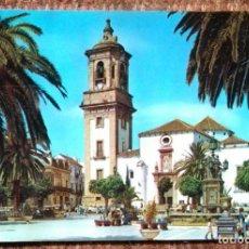 Postales: ALGECIRAS - CADIZ - PLAZA DEL GENERALISIMO. Lote 161335646