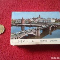 Postales: BLOC ACORDEÓN TACO TIRA DE IMÁGENES FOTOS FOTOGRAFÍAS PHOTOS SEVILLA ANDALUCÍA FERIA LA GIRALDA.... . Lote 161485482