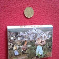 Postales: BLOC ACORDEÓN TACO TIRA DE IMÁGENES FOTOS FOTOGRAFÍAS PHOTOS MOJACAR ALMERÍA ANDALUCÍA BURROS....VER. Lote 161487438