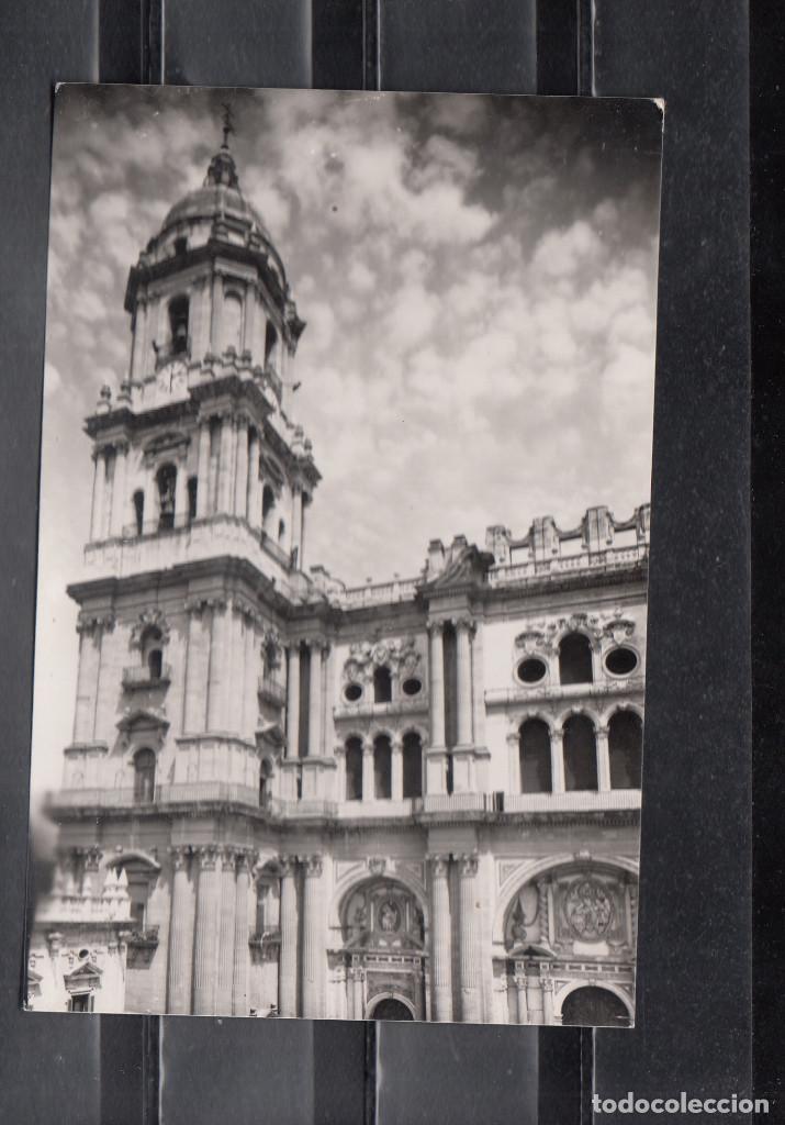 1008.- MALAGA. CATEDRAL. FACHADA PRINCIPAL (Postales - España - Andalucia Moderna (desde 1.940))