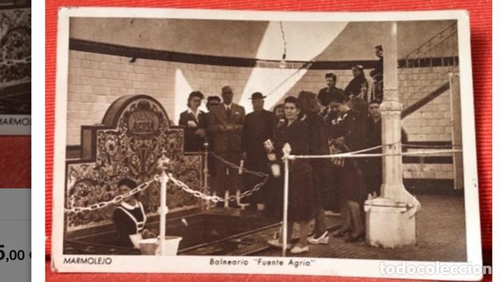 BALNEARIO MARMOLEJO JAEN ANTIGUA POSTAL FUENTE AGRIA HUECOGRABADO HIEUSSET POSTAL BALNEARIO JAEN (Postales - España - Andalucía Antigua (hasta 1939))