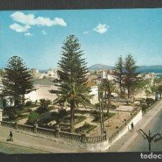 Postales: POSTAL SIN CIRCULAR - TARIFA 6 - CADIZ - PASEO DE LA ALAMEDA - EDITA ESCUDO DE ORO. Lote 162330794
