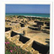 Postales: RUINAS DE BAELO CLAUDIA. BOLONIA. TARIFA. CÁDIZ. EDICIONES AM. Lote 162451006