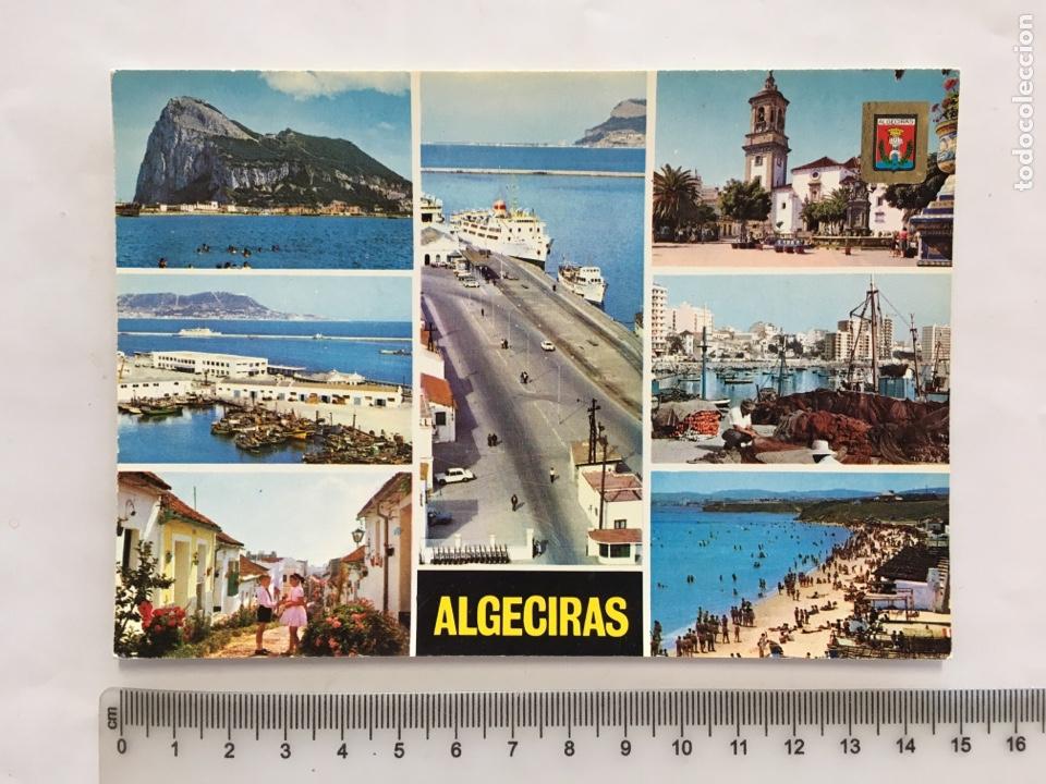 POSTAL. ALGECIRAS. CÁDIZ. DIVERSOS ASPECTOS. SUBIRATS CASANOVAS. H. 1970?. (Postales - España - Andalucia Moderna (desde 1.940))