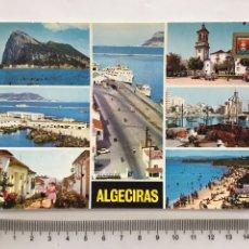 Postales: POSTAL. ALGECIRAS. CÁDIZ. DIVERSOS ASPECTOS. SUBIRATS CASANOVAS. H. 1970?.. Lote 162602990
