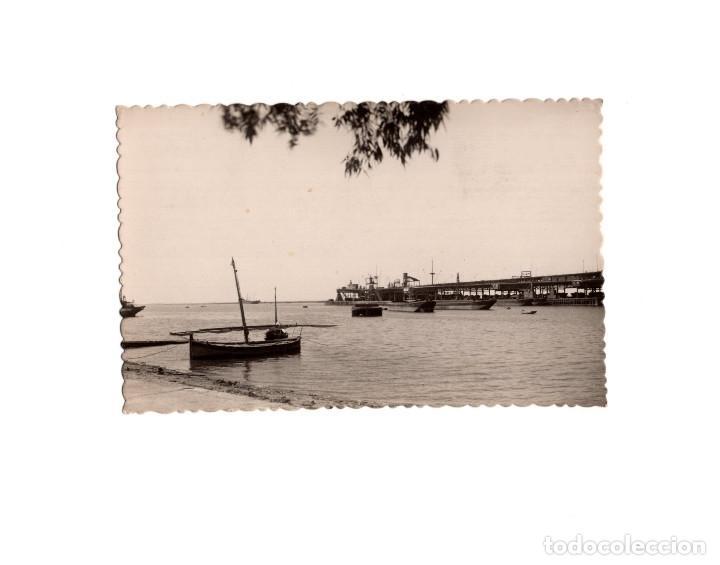 HUELVA.- MUELLE DE RIO TINTO. (Postales - España - Andalucía Antigua (hasta 1939))