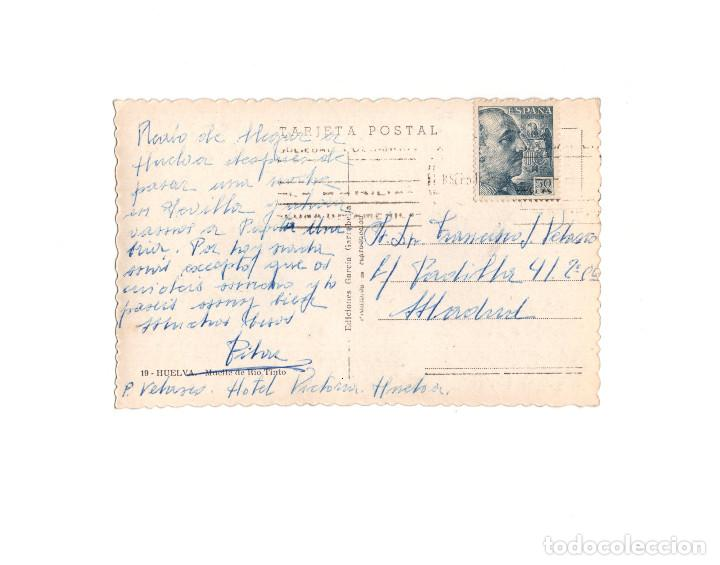 Postales: HUELVA.- MUELLE DE RIO TINTO. - Foto 2 - 162794954