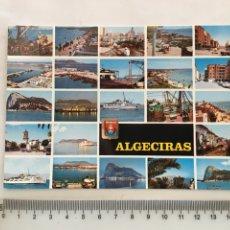 Postales: POSTAL. ALGECIRAS. DIVERSOS ASPECTOS. SUBIRATS CASANOVAS. H. 1965?.. Lote 163318317