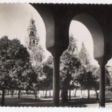 Postales: CÓRDOBA. MEZQUITA CATEDRAL. CLAUSTRO DEL PATIO DE LOS NARANJOS. FRANQUEADA EN OCTUBRE DE 1952.. Lote 163336930