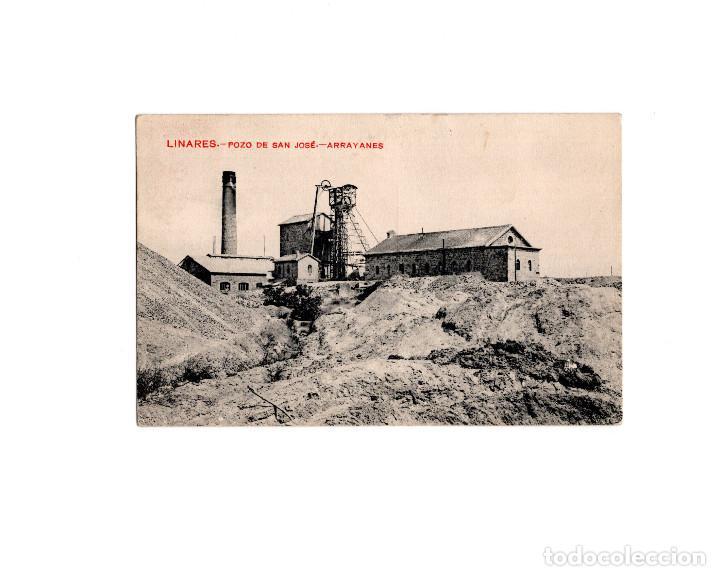 LINARES.(JAÉN).- POZO DE SAN JOSE. ARRAYANES. (Postales - España - Andalucía Antigua (hasta 1939))